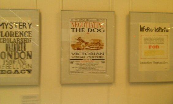 My poster in situ.